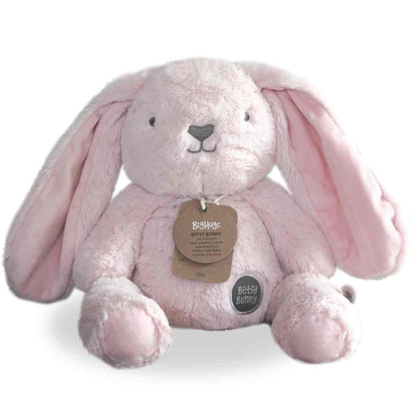 ship-me-toys - Betsy Bunny Huggie (pink) - O.B. Designs - Baby