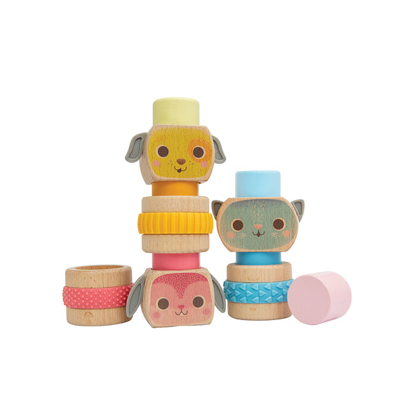 ship-me-toys - Totem Stackers - Pets - Tiger Tribe - Baby