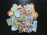Rick and Morty 35 Sticker Pack