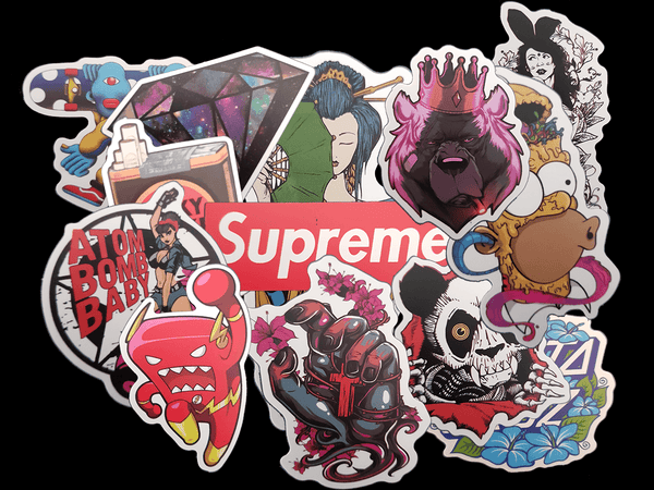 Premium Street Sticker Pack