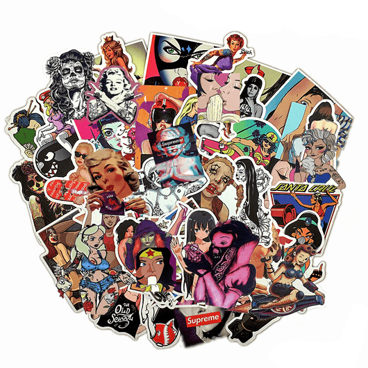 Graffiti Girls Sticker Pack