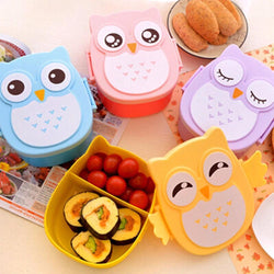 Owl Portable Lunch Box