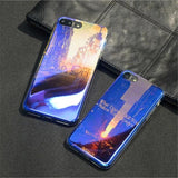 Lazer Blue iPhone Case, Phone Case, Mokelli