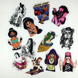Graffiti Girls Sticker Pack, Sticker, Mokelli