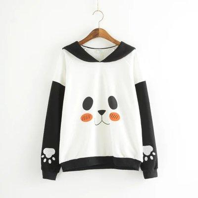 Sailor Panda, Sweatshirt, Mokelli