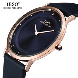 IBSO 7MM Ultra-thin Quartz Wristwatch, Watch, Mokelli