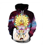 Galaxy Adventure Time Hoodie, Hoodie, Mokelli