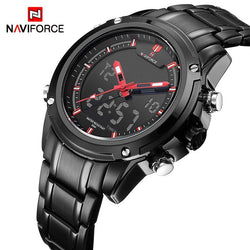 NAVIFORCE Red Lightning, Watch, Mokelli