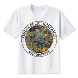 Psychedelic Research Volunteer, T-shirt, Mokelli