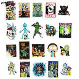 51 Pack New Rick and Morty stickers, Sticker, Mokelli