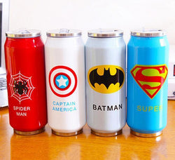 New Heroes League Vacuum Flask 450ml, Flask, Mokelli