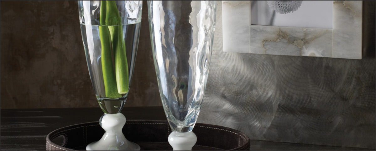 Hand Crafted Glass & Ceramic Vases