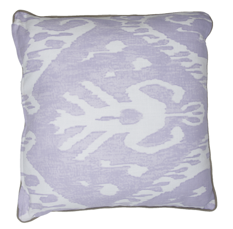 600031 ZULU CUSHION - Misty Lilac/ Chalk Pink