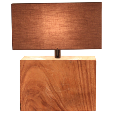110110 Natural Wide Lamp (210385W)