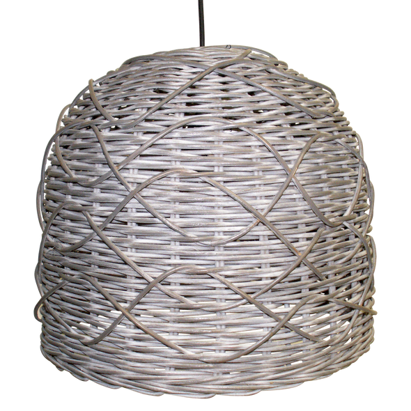110144 Grey Wash Rattan Curve Hanging Lamp-lg
