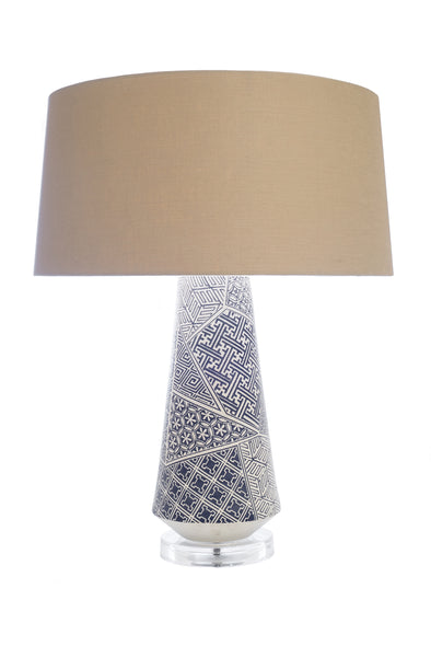 110502 Sapporo Blue Table Lamp