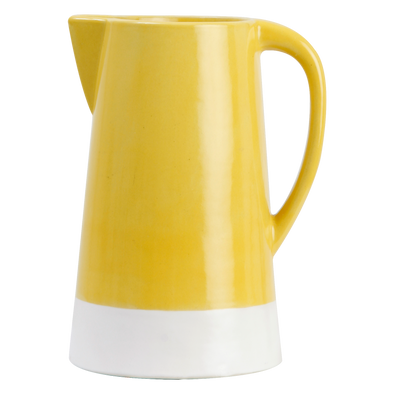 160151 Spring Crackle Pitcher - Sunflower