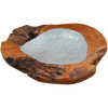 160335	Jester Teak & Resin Bowl with foil insert