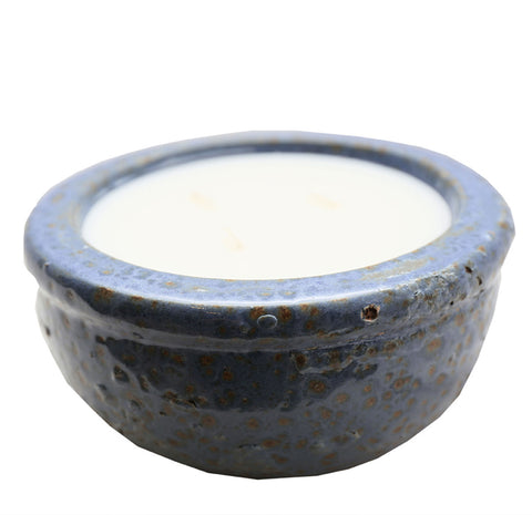210030	Boiling Med Blue Scented Candle - Vanilla