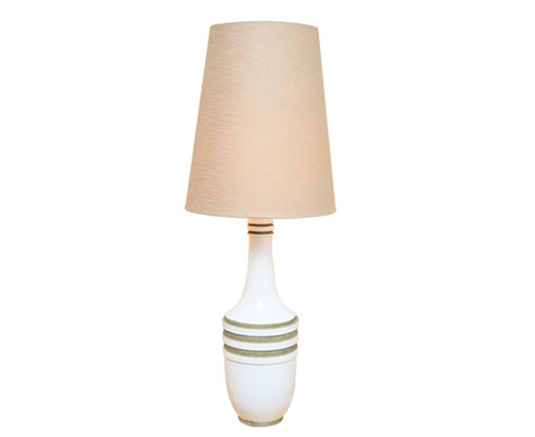 223055-338007-SHADE	White Metro Lamp w/ cone shade