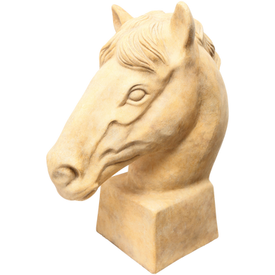 228049	Sand Ceramic Horse sculpture