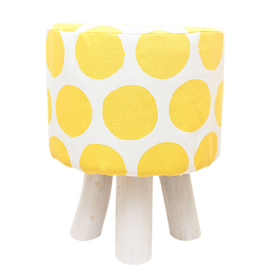 310108 Tobas Yellow Dot Stool