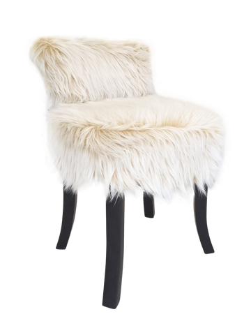 321057	Justine Chair - Faux Mink