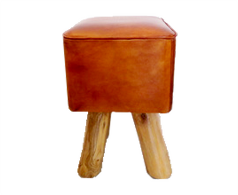 321253	Tredeu - Camel Colour leather w/ natural legs
