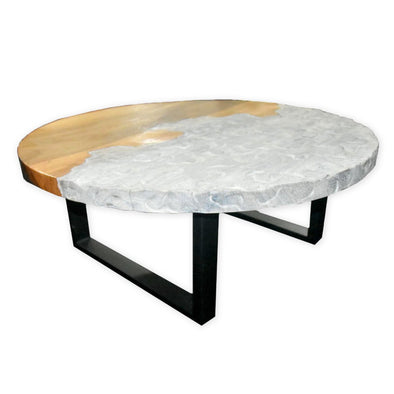 321270	Drefus Coffee Table - SUAR WOOD & Iron legs