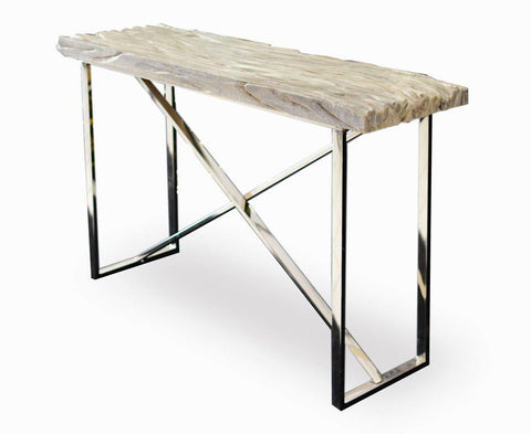 321274 Textured Console Table