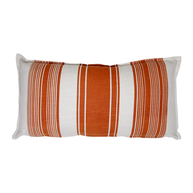 600034 SOLE CUSHION - Stripes in Copper- 35 x70cm