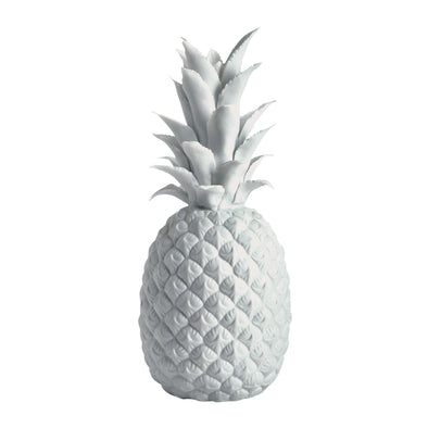 724008GL White Gloss Porcelain Pineappl