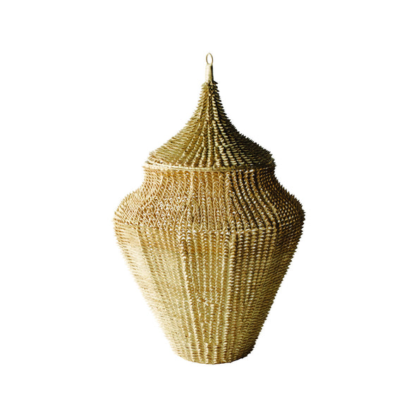 784033 Oversized Spike Urn Lontar-Large