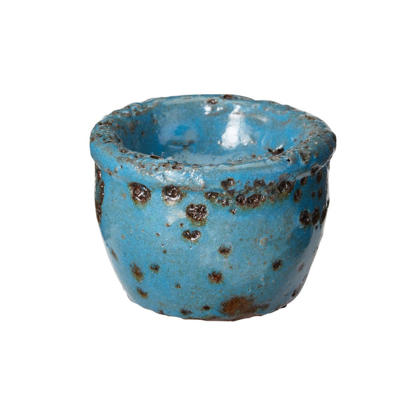 S857070 Set of 3, Rustic Ocean Tealight Holders