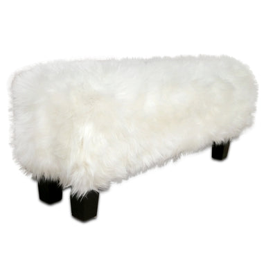 321032 Faux Sheep Bench