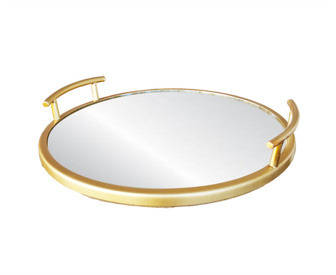 100261b Brass Ring metal Tray