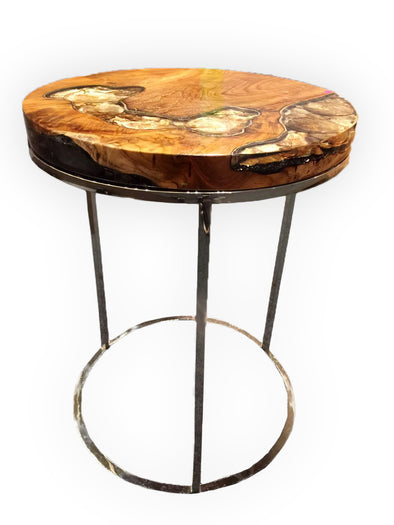 321035 Round GOLD side table