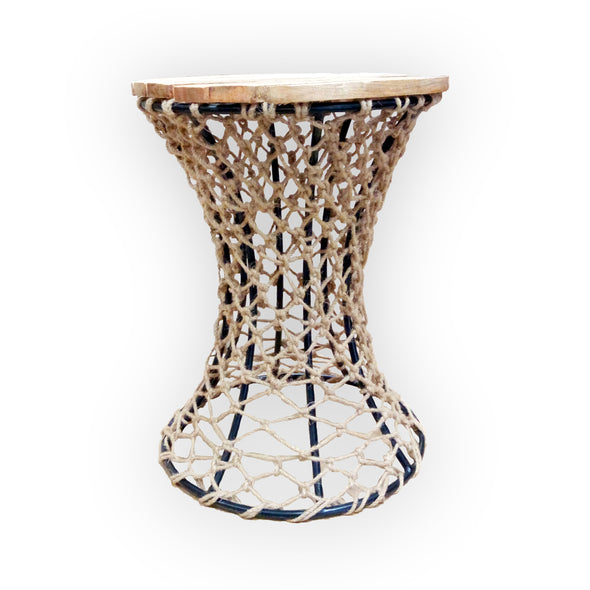 310173 Fishnet Side Table