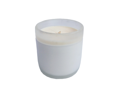 210006 Sanded Scented Soy Candle - White Tea & Jusmine