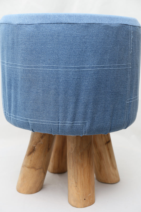 310075	Embani Denim stool