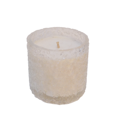 210003 Ice Rock Salt Scented Soy Candle - Citrus Bazil