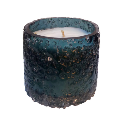 210002 Sea Blue G Scented Soy Candle - Rain water