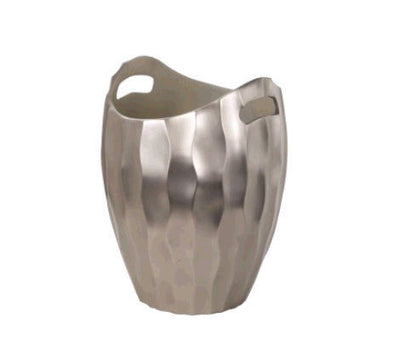 346031 Silver Wave Ice Bucket