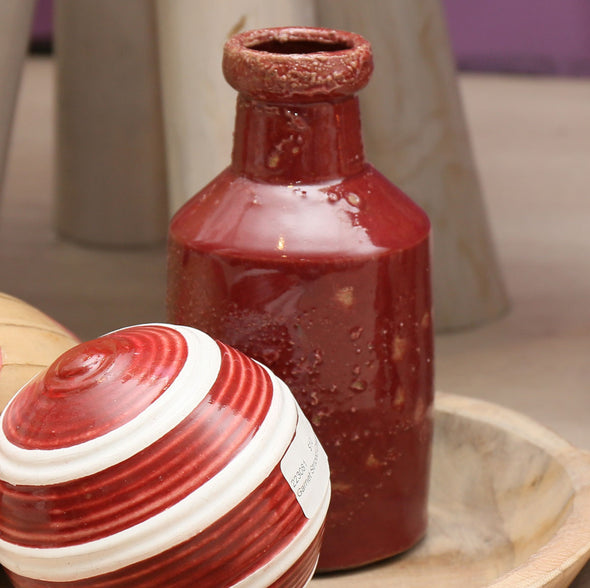 857086 Rustic Sangria Milk Bottle