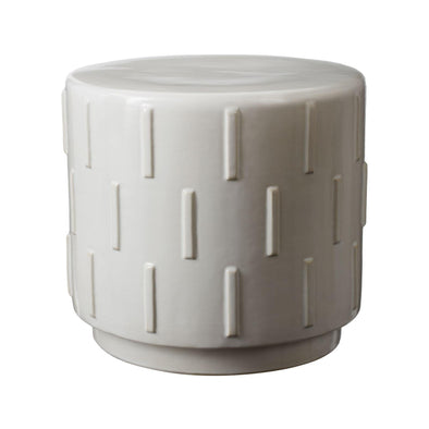 857047 White Tread Stool