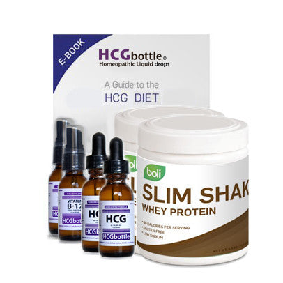 The HCG Diet Package | 40-Day Supply - drops
