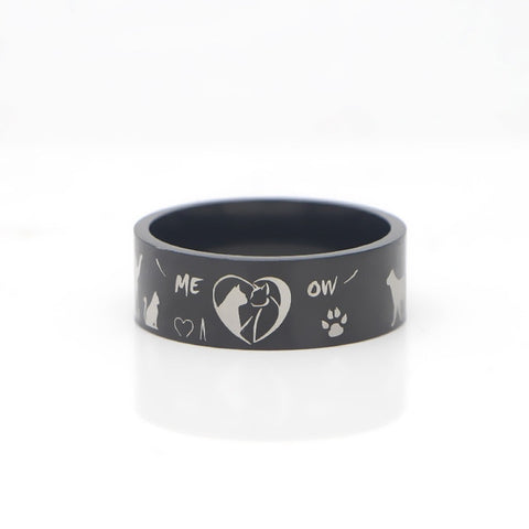 Cat Ring Stainless Steel