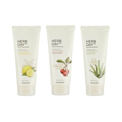 [THEFACESHOP] Herb Day 365 Master Blending Cleansing Cream 170ml