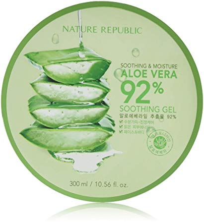 [NATUREREPUBLIC] Soothing & Moisture Aloe Vera 92% Soothing Gel 300ml