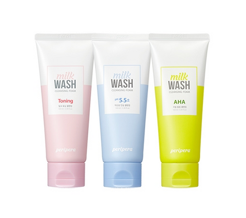 [PERIPERA] Milk Wash Cleansing Foam 100ml